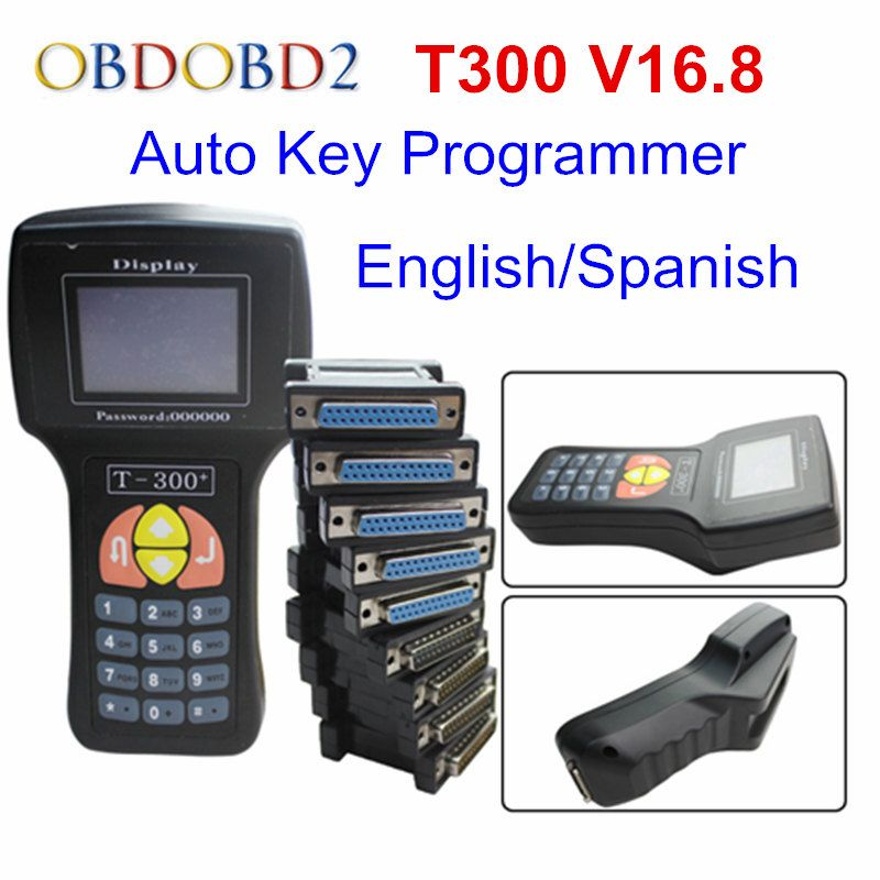 Professional T 300 T300 Auto Key Programmer T Code T 300 Software 2016 V 16 8 Support Multi Brand Cars T300 Key Maker Key Programmer T 300 Coding Software