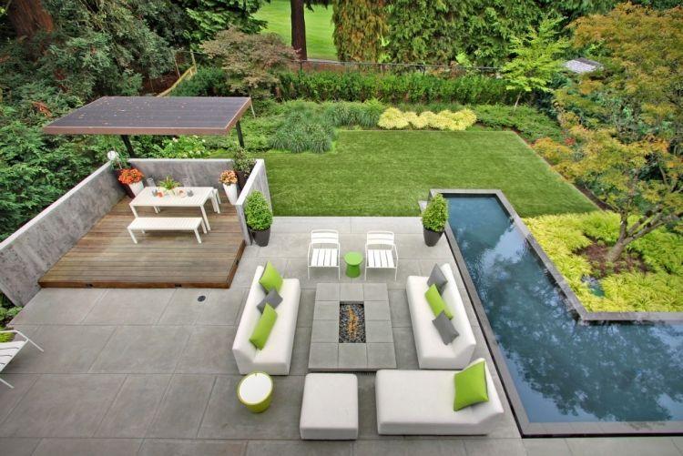 Aménagement terrasse en 105 idées modernes et élégantes Piscine