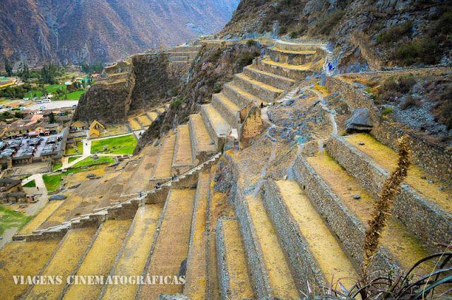 Peru Ollantaytambo Vale Sagrado Dos Incas Viagens Blog