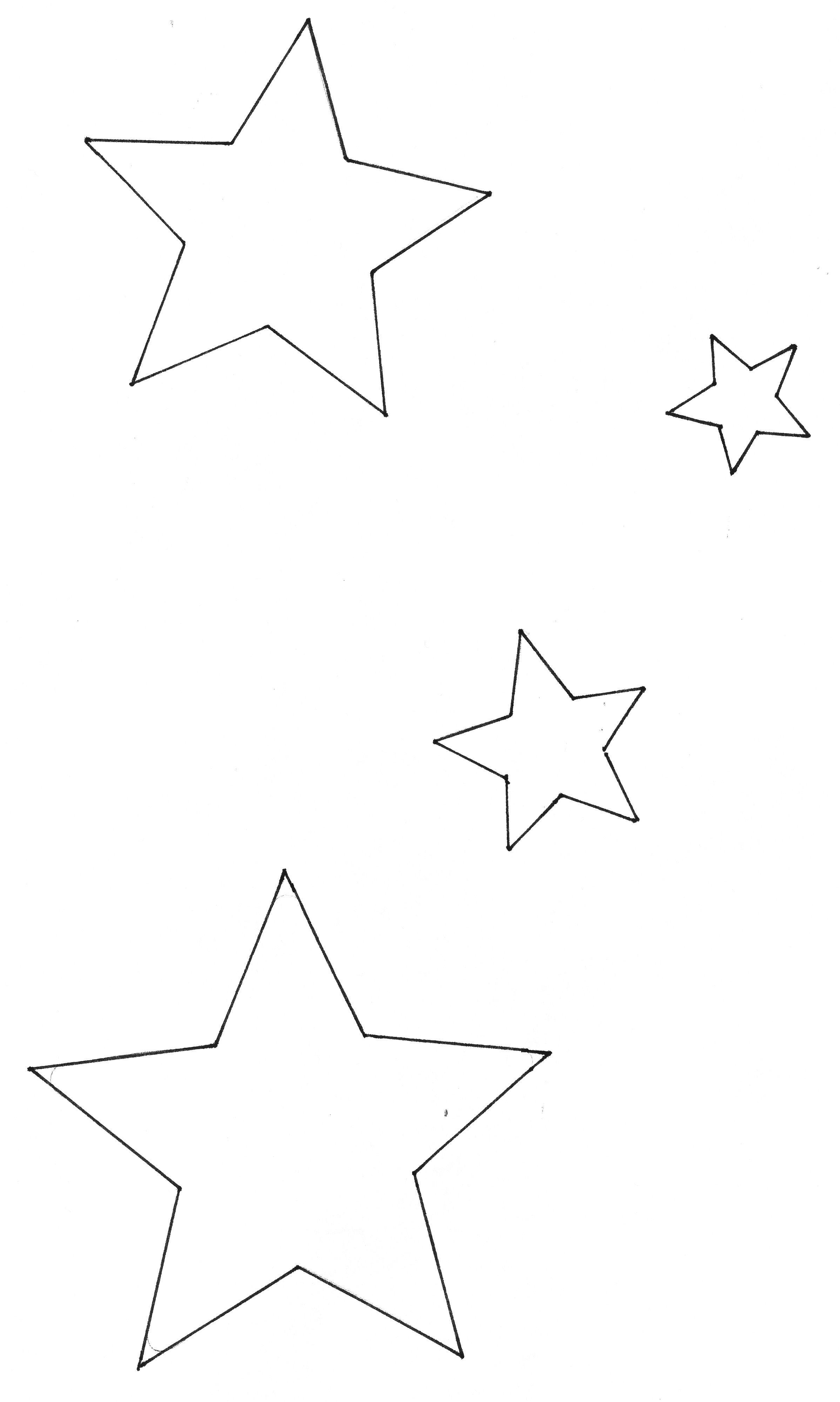 schablonen sterne selber machen  Ausschneide Sterne Selber Machen