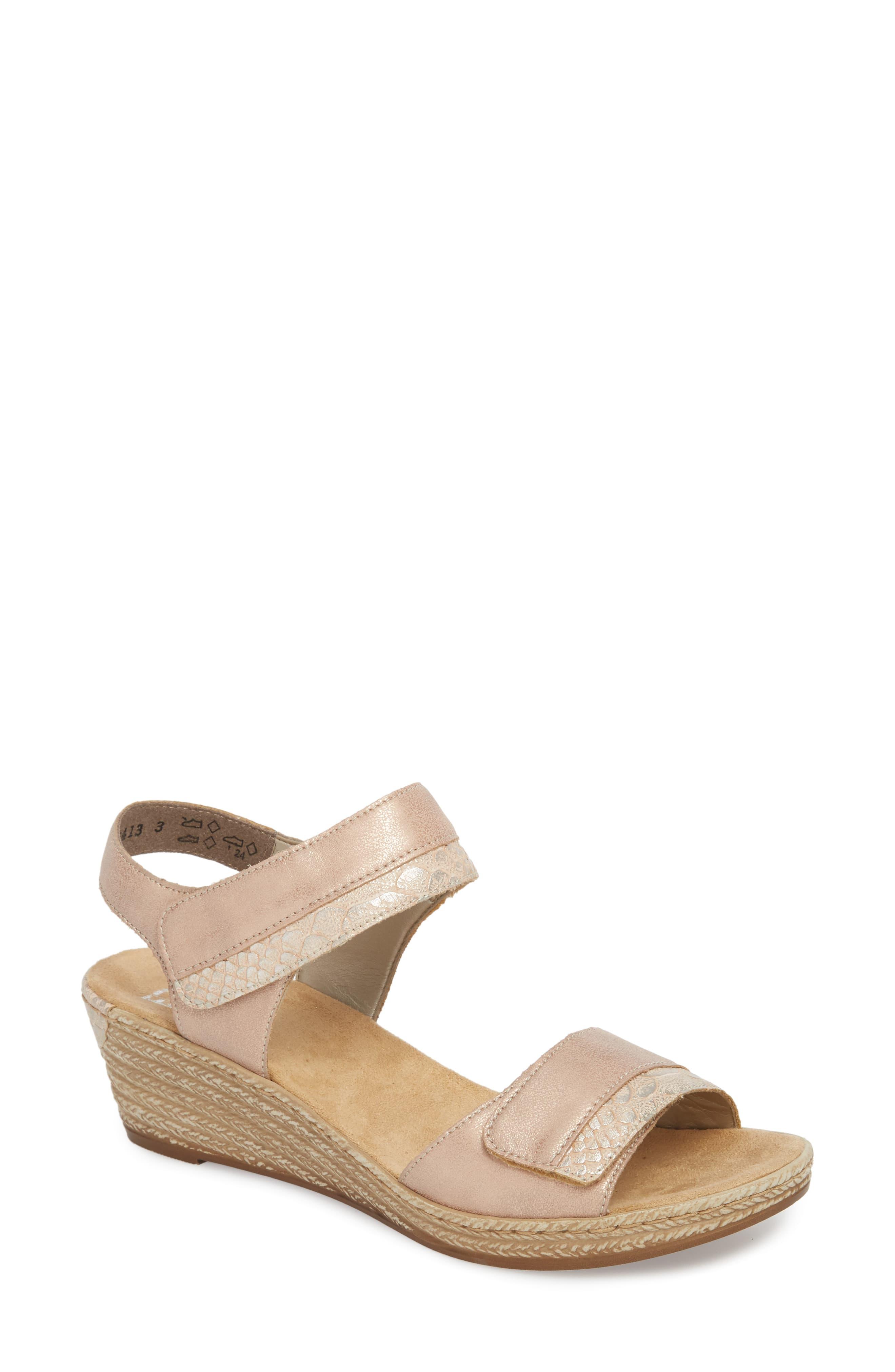 Rieker Antistress Fanni 70 Wedge Sandal (Women | Wedge