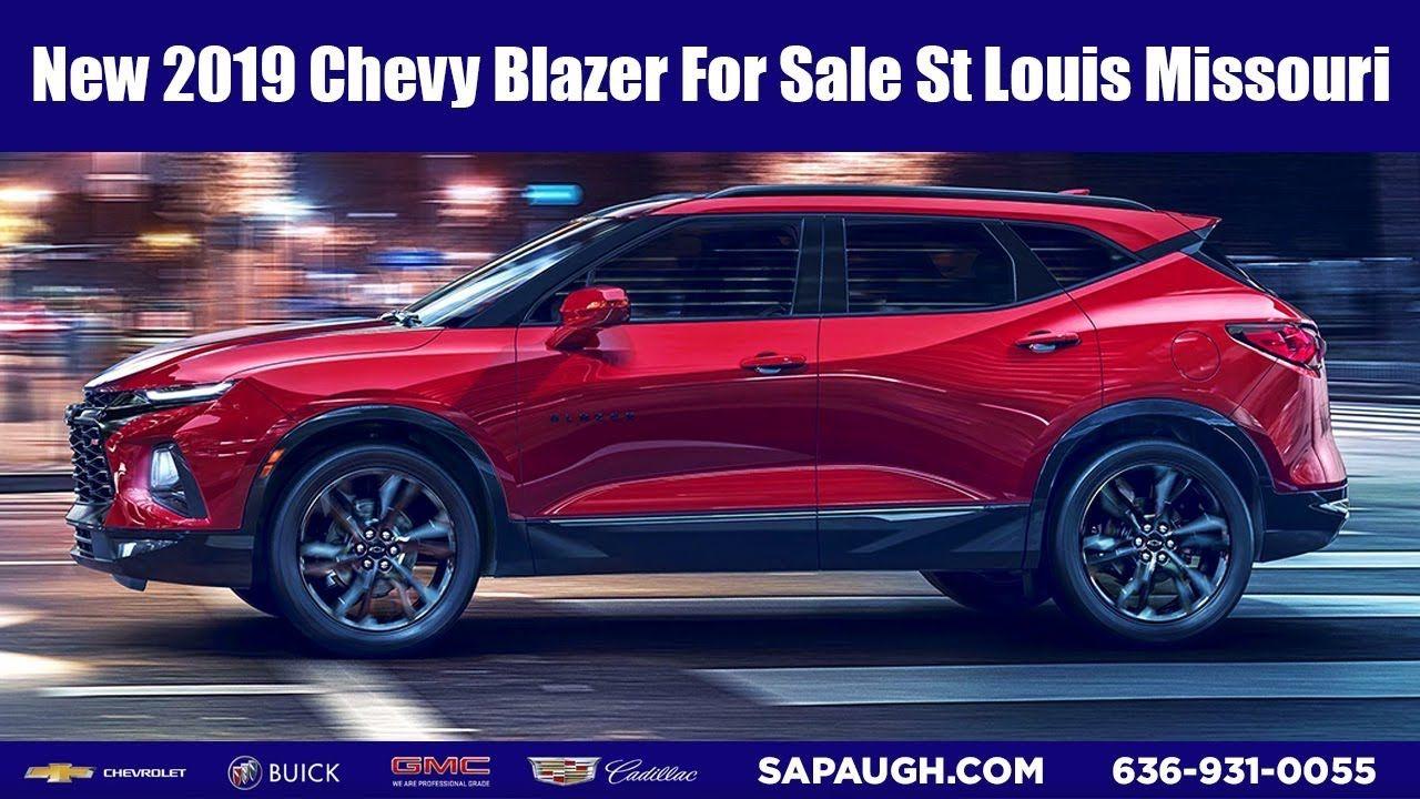 New 2019 Chevy Blazer For Sale St Louis Missouri St Louis