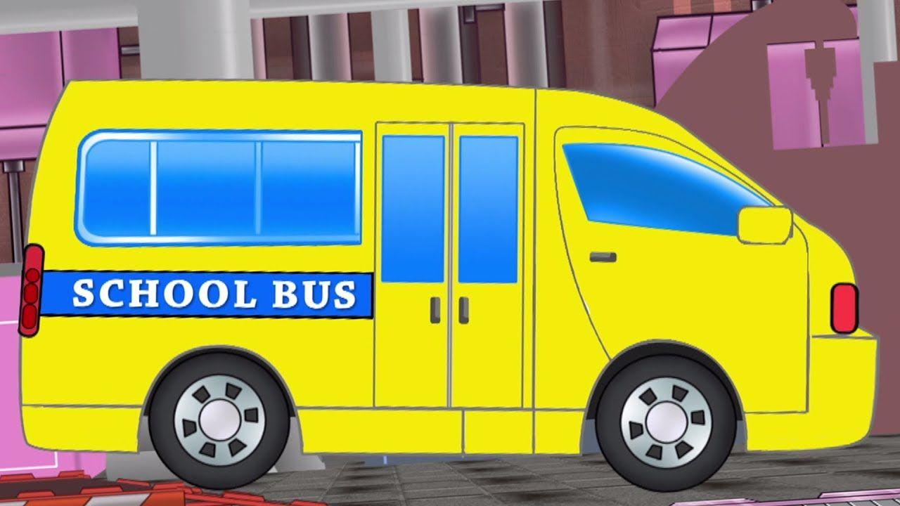 Sekolah Van Garasi Mobil Kendaraan Untuk Anak Anak Children Toy Ca Sekolah Van Garasi Mobil Kendaraan Untuk Anak Anak Childr Van Kids Videos Kids