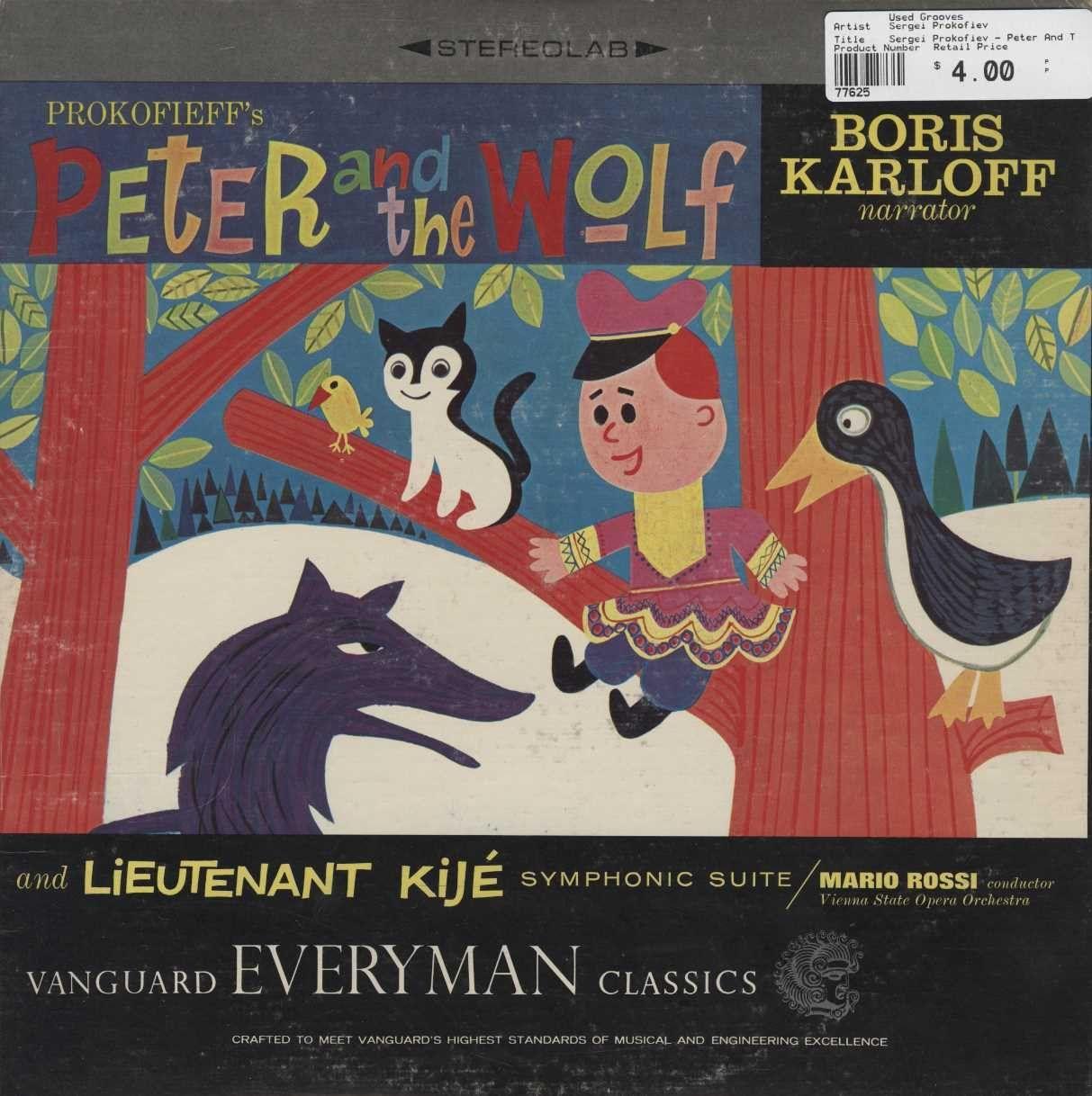 Sergei Prokofiev - Peter And The Wolf, Op. 67