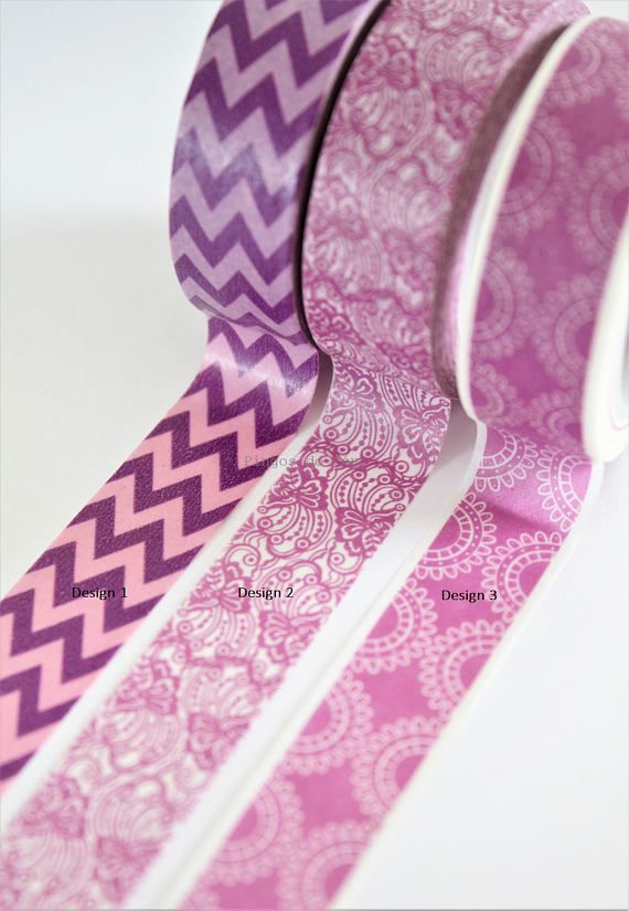 10 Meters Gift Wrap Washi Tape Purple Stripes Bujo Tape Journaling Scrapbook and Bullet Planner Supplies Paper Crafts
