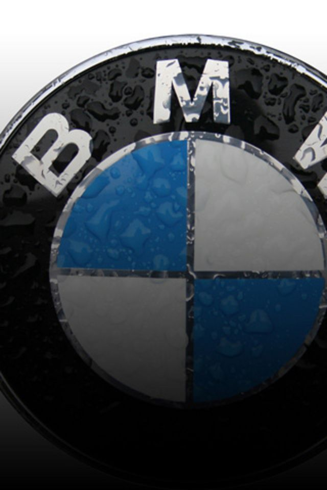обои на айфон 4 с логотипом bmw