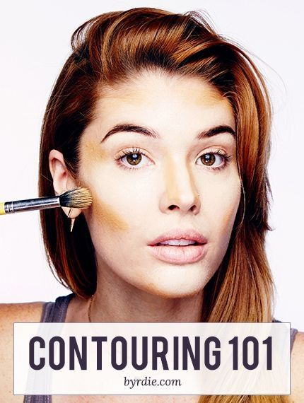 Contouring, Highlights and Blush: 38 Inspos and Infographics That Will Make You 10 Times More Beautiful ...