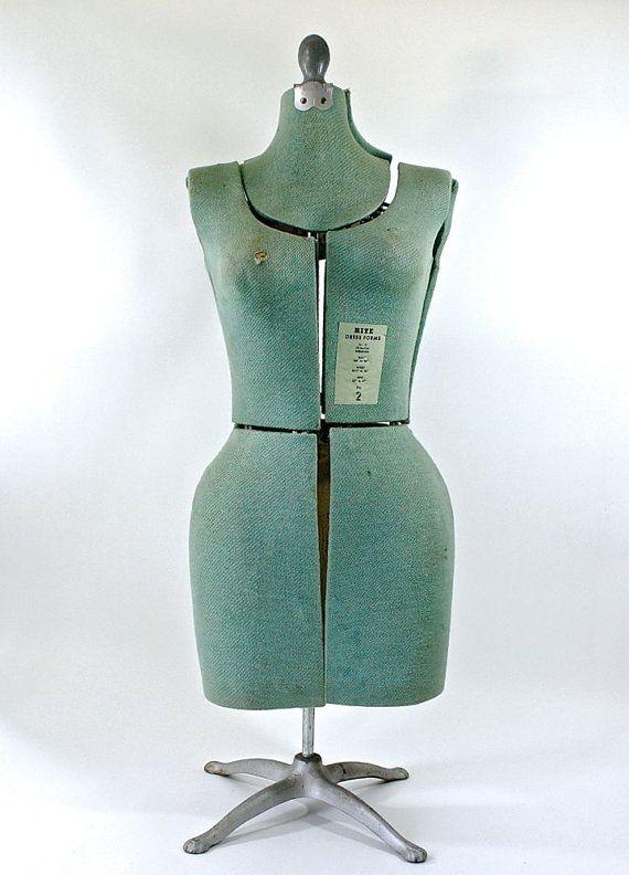 21++ Vintage dress form information