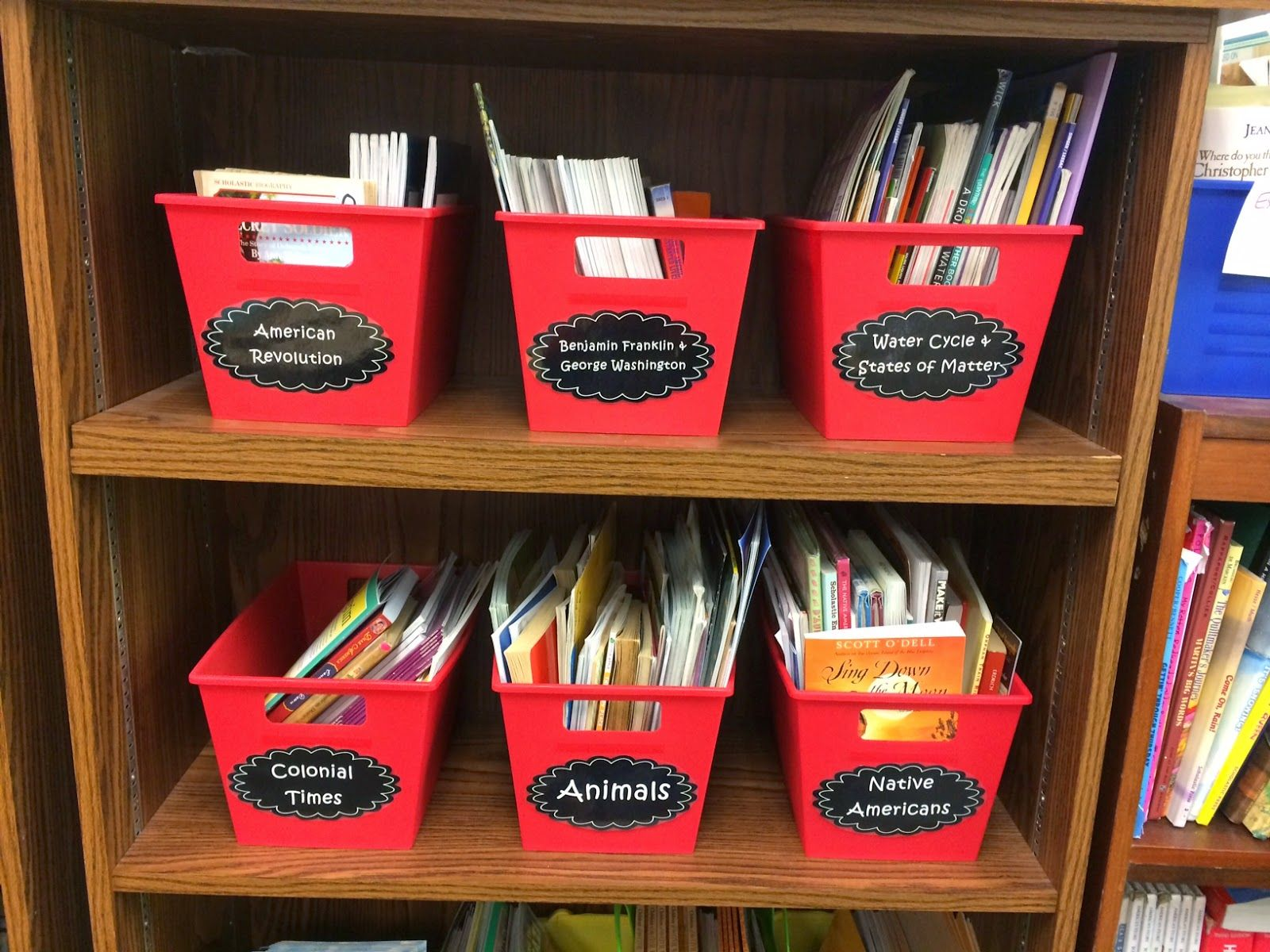 Red Classroom Decor : Red white and black classroom labels