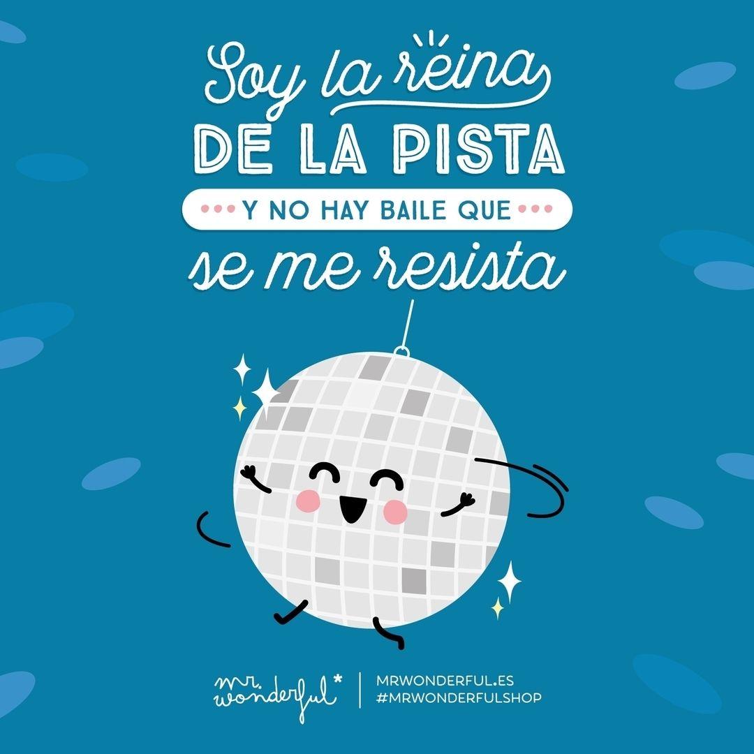 Esta Noche Hay Fiesta De La Buena A Bailaaaaaar Mrwonderful Chistes Y Adivinanzas Frases Bonitas Frases De Fiesta