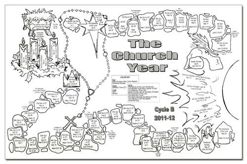 liturgical coloring pages - photo#11
