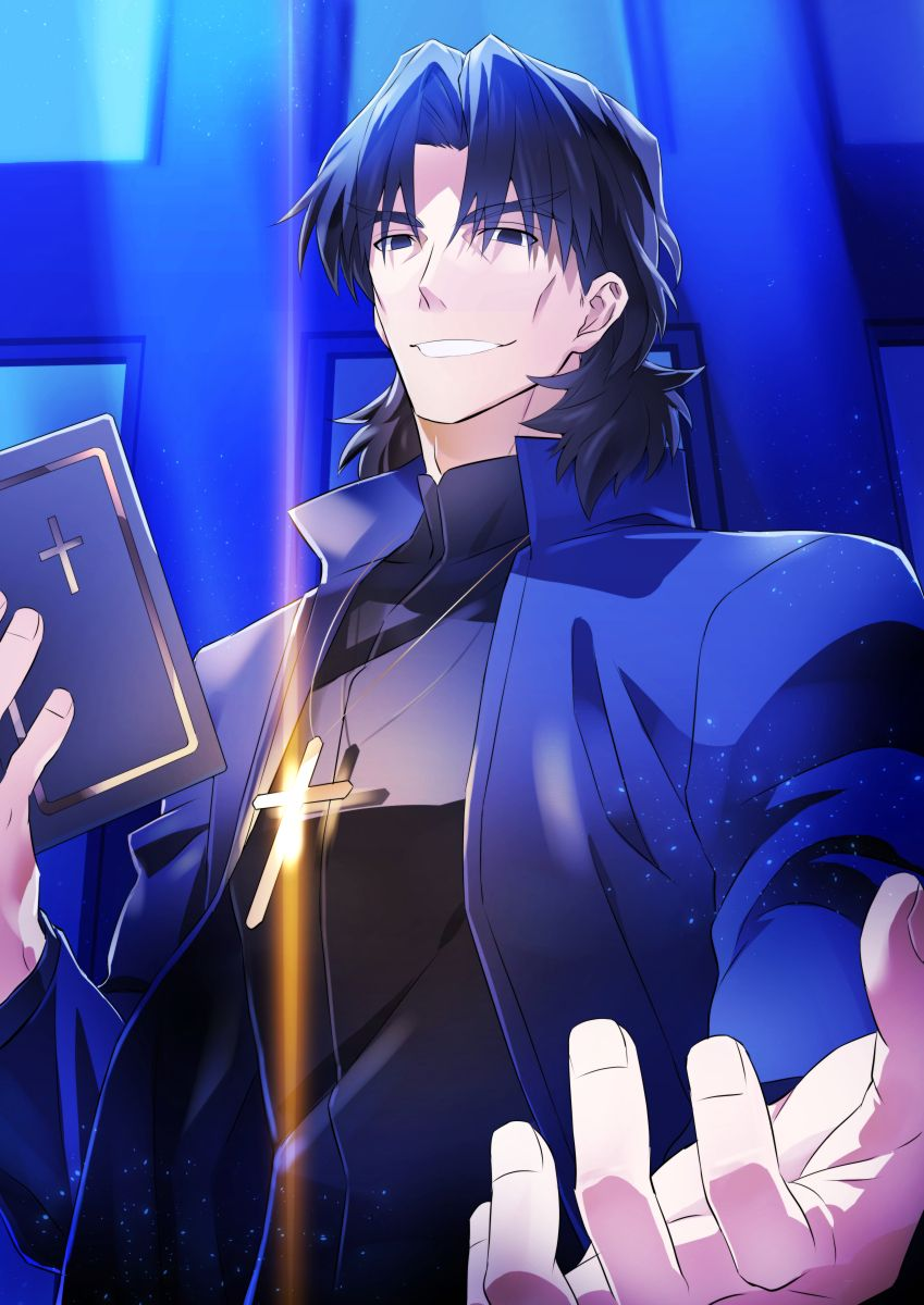 Kotomine Kirei/1787644 Zerochan Fate anime series