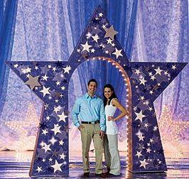 Decoracion de graduacion con estrellas buscar con google - Decoracion con estrellas ...