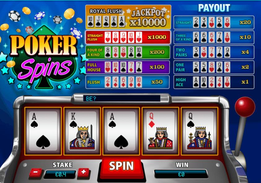 Poker Spins » Jocuri Pacanele ca la Aparate Online Gratis
