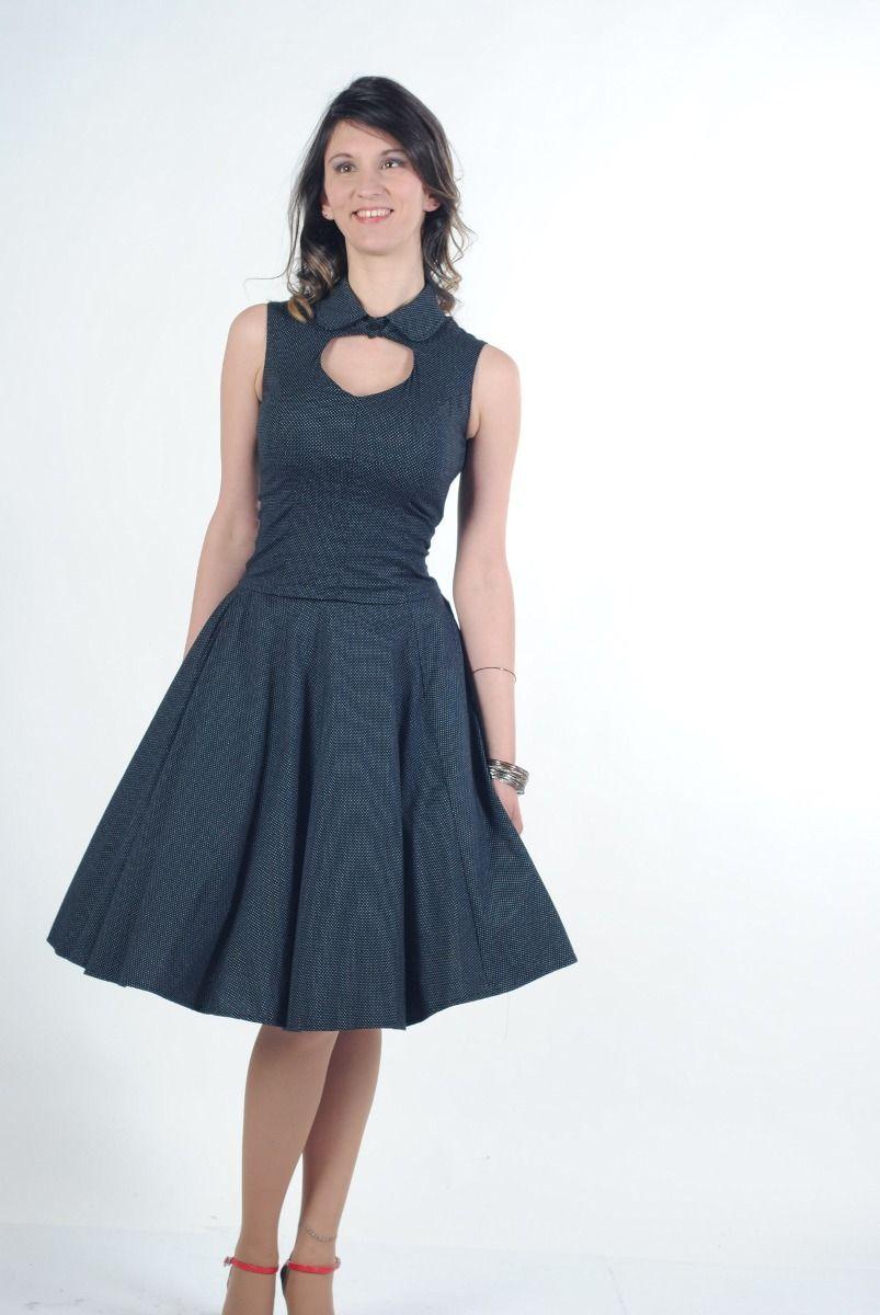 efa39f6b83 vestido vintage pinup