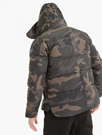 ... canada goose macmillian parka black label the canada goose macmillan parka seen here in camouflage.