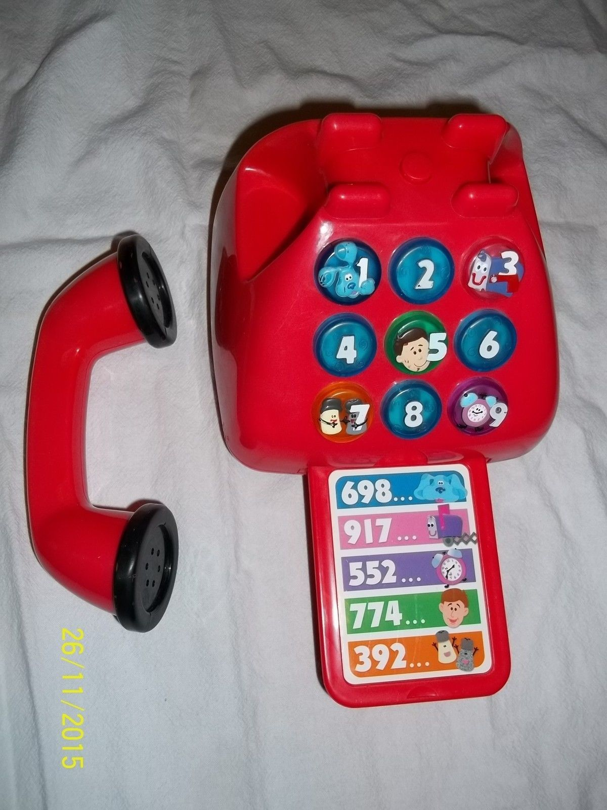 Blue Clues Toys Blues Talking Lights Sounds Red