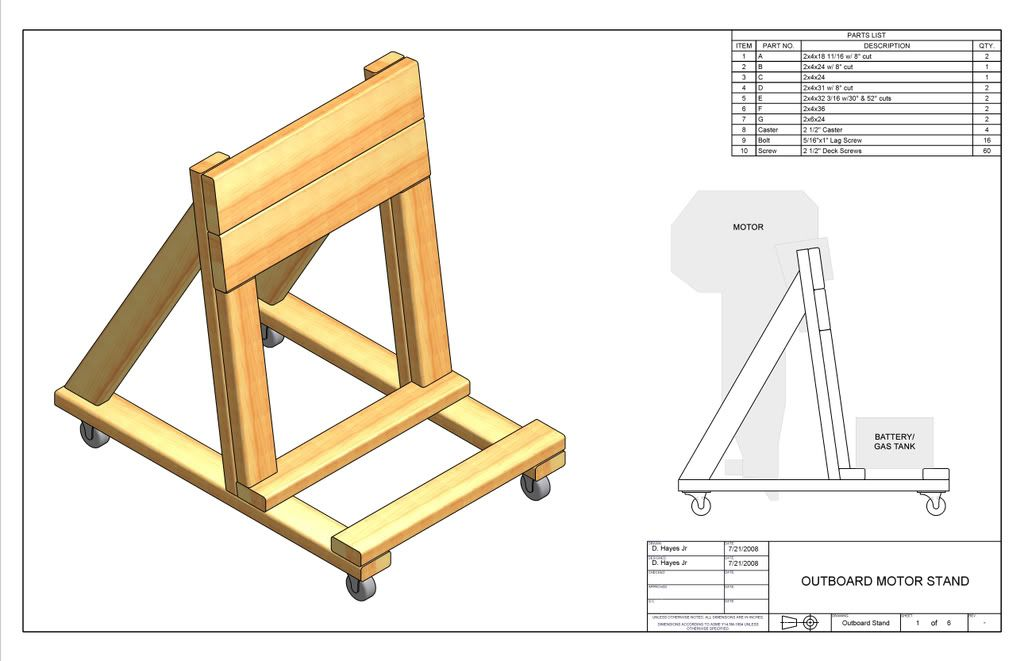 Building an o b motor stand instructional 273327 page for How to build a tower stand
