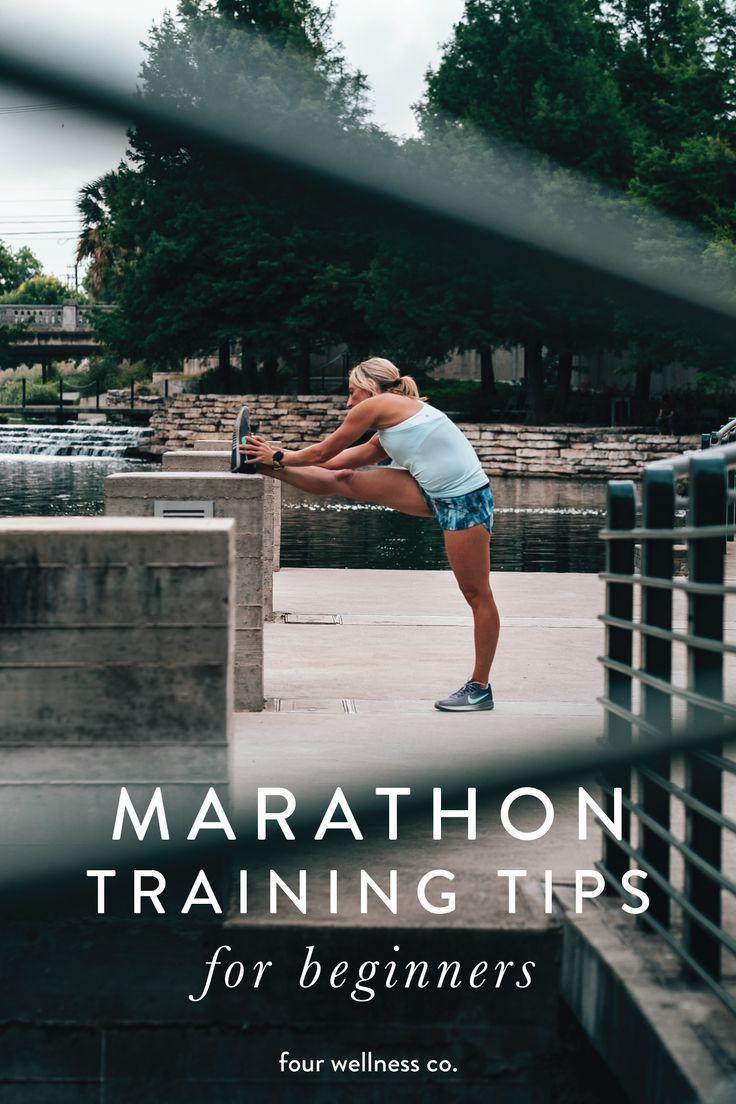 Marathon training tips for beginners // How to prepare for running your first marathon or half marat...