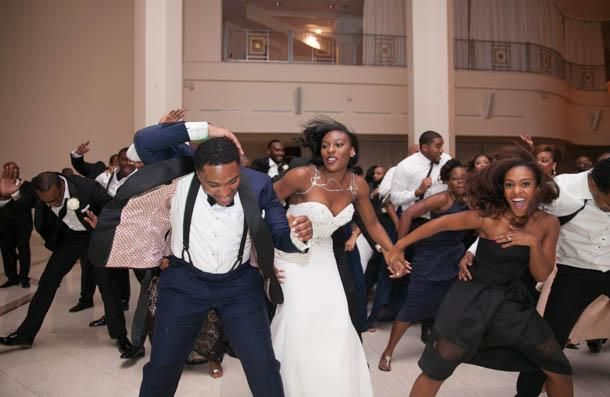 Now this is how you party at your wedding!