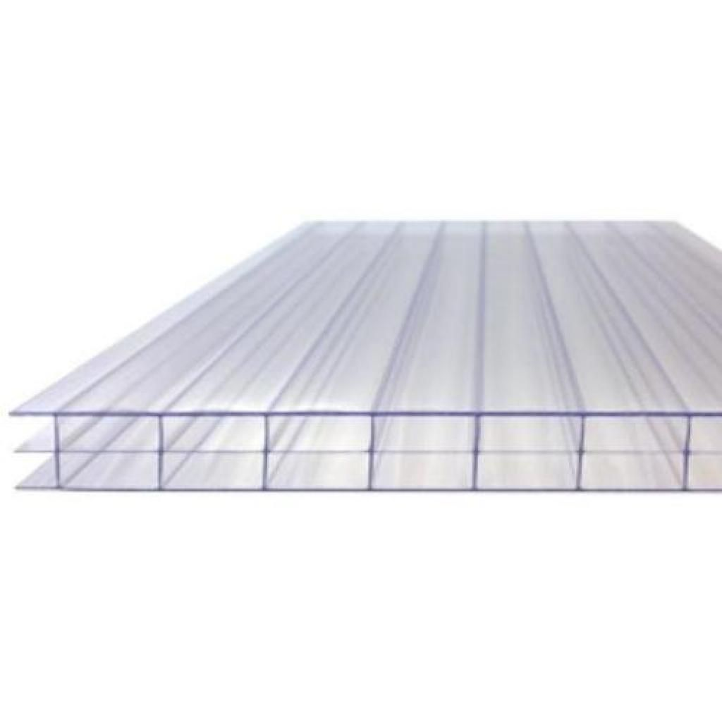 16mm Clear Triple Wall Polycarbonate Roofing Sheets Roofing Sheets Roofing Modern Roofing