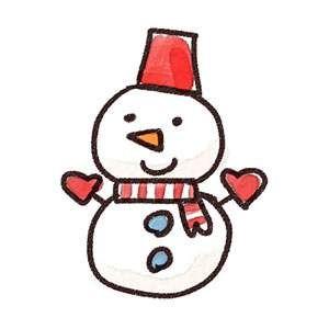 無料イラスト素材 クリスマスに最適 可愛いスノーマン 雪だるま の画像まとめ クリスマスカードのデザイン クリスマス イラスト 手書き 雪だるま イラスト