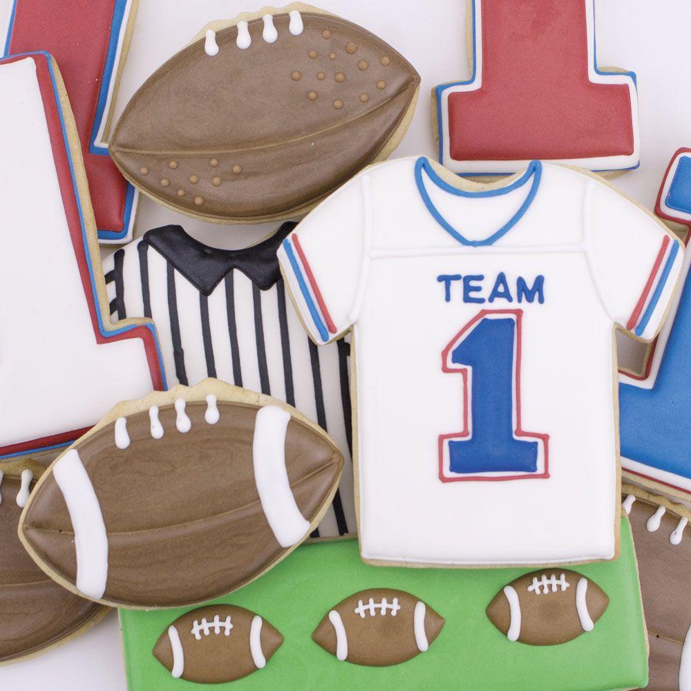 Rugby Team 100 Cookie Cutter Set