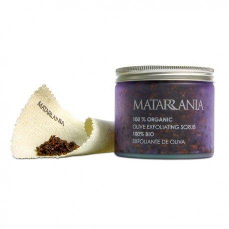 Exfoliante natural Matarrania.  Matarrania organic body scrub.