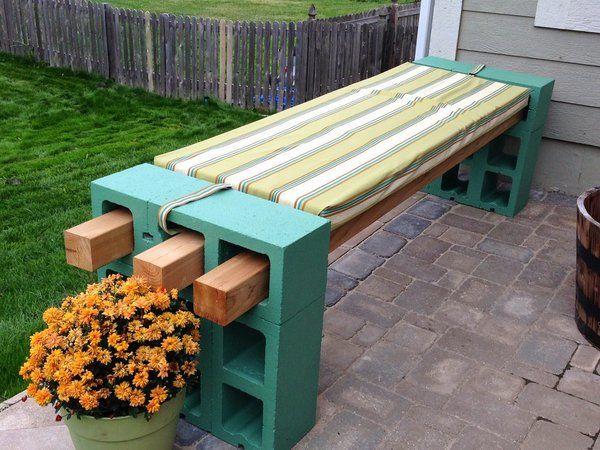 Garden Bench Ideas That Are Out Of The Ordinary Garden Bench Diy