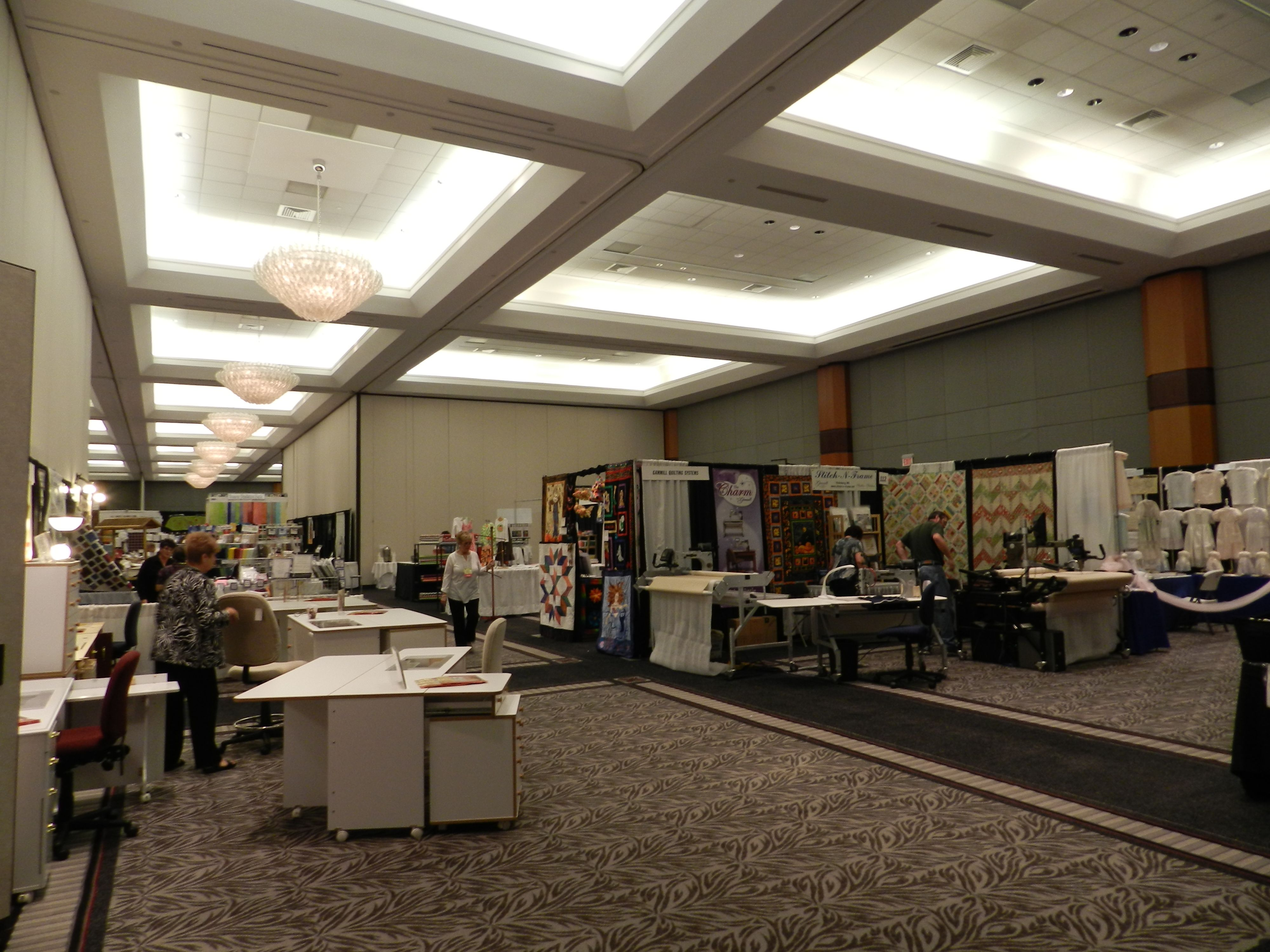 Sewing Expo At Cahaba Grand Conference Center Decor Home Decor Room