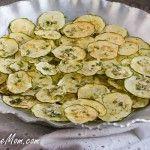 Homemade Ranch Zucchini Chips