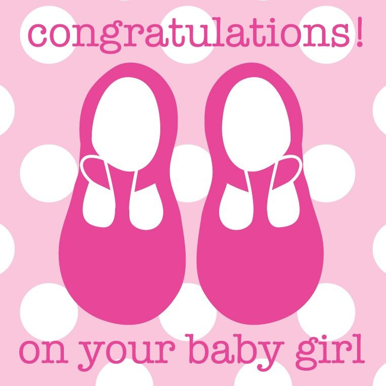 Congratulation Baby Girl | Congratulations On Your Baby ...