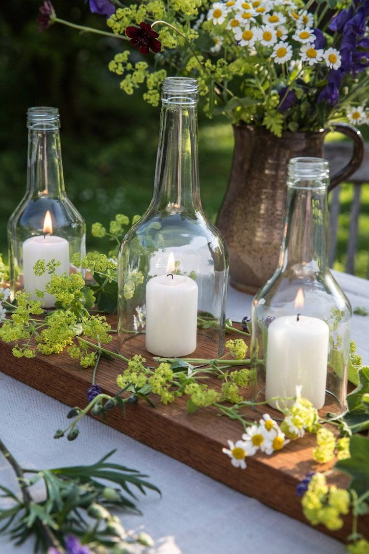 Photo of Inspirationen zum Dekorieren mit Gläsern und Flaschen – Servus