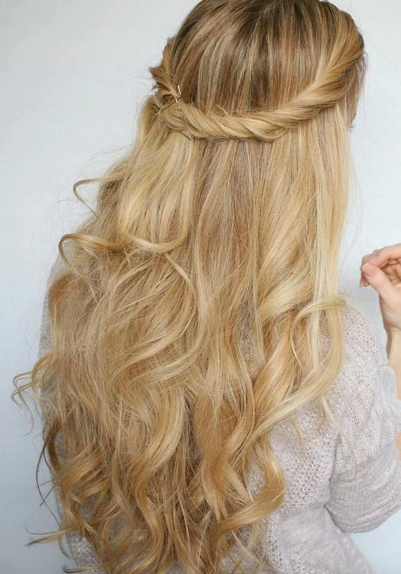 75 Trendy Long Wedding & Prom Hairstyles to Try in 2017 | Prom ...