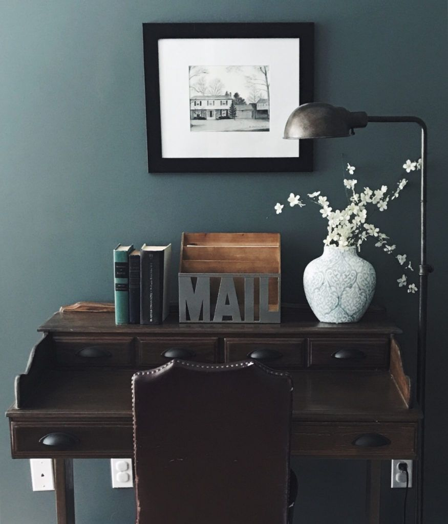 Choosing A Moody Green Paint Color | Green paint colors ...