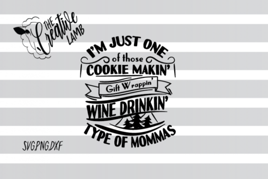 Christmas Svg Wine Drinkin Svg Mom Svg By The Creative Lamb With Images Christmas Svg Free Svg Files Monogram Svg