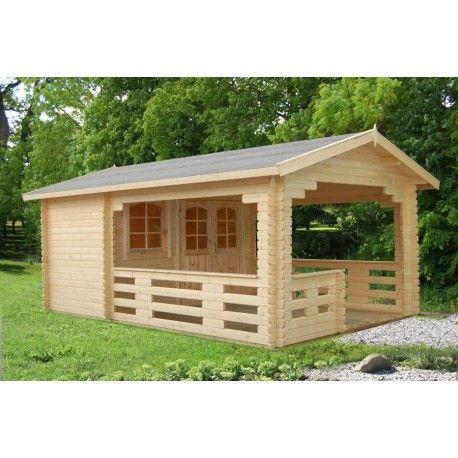 Abri de jardin sylvi 17 8 m avec plancher bois massif - Abris de jardin avec plancher ...