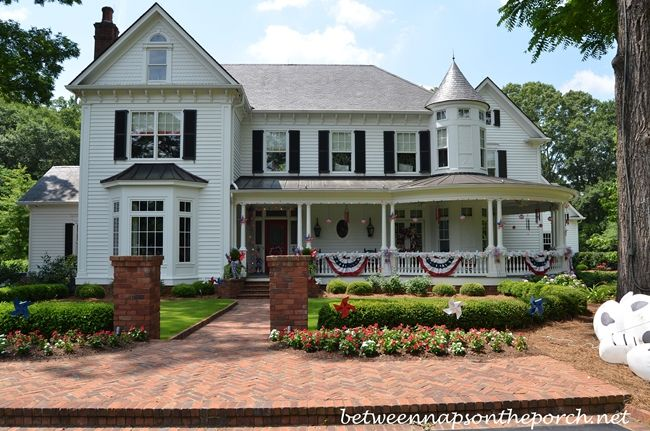 4th Of July Decorations For Home Exterior  Love This House!