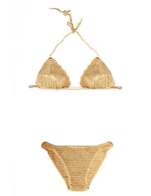 mejor entrega rápida mejores zapatos Pin by Ann on favorite in 2019 | Gold bikini, Bikinis ...