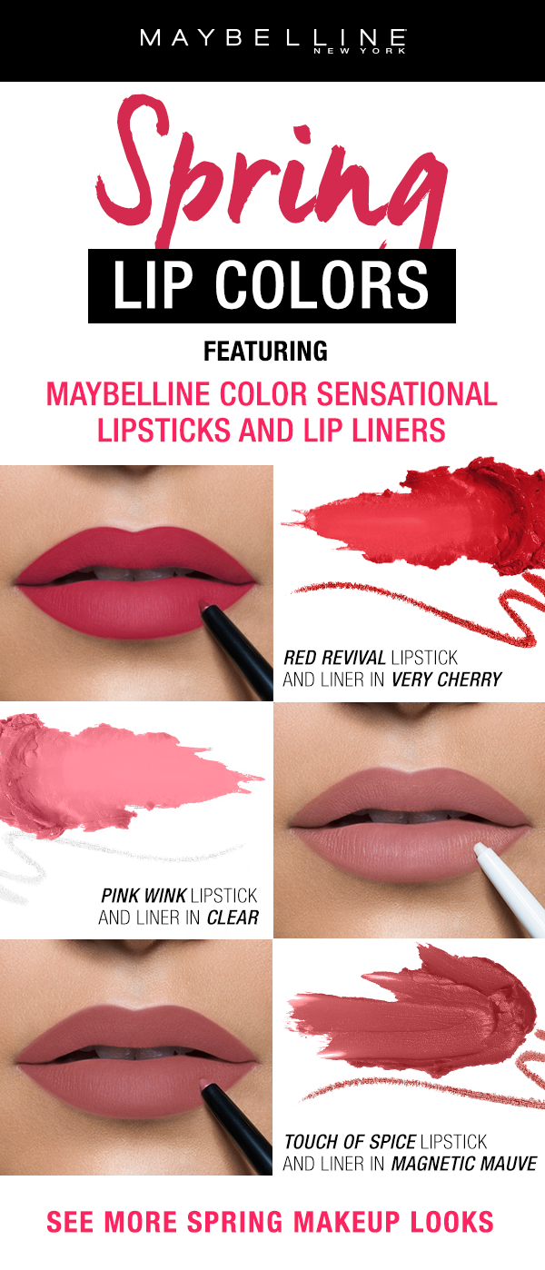 This Spring Season Go For A Pop Of Color With Maybelline Color