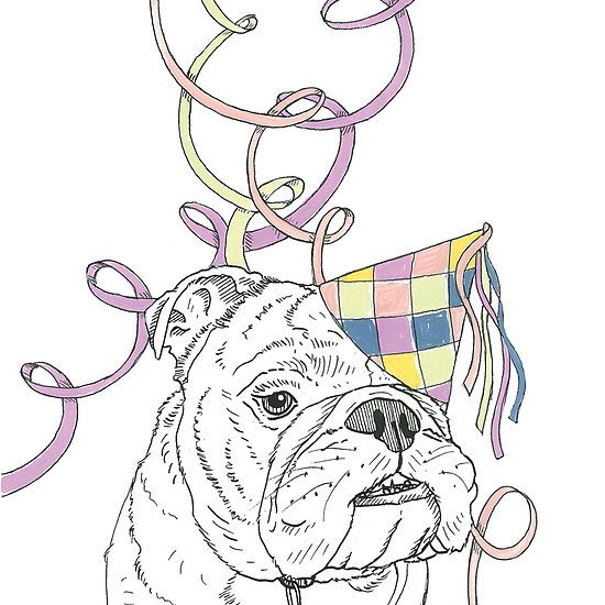 Party Animal ! Bulldog
