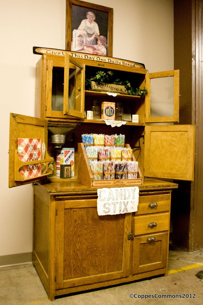 These cabinets were made in Nappanee, Indiana at Coppes ...