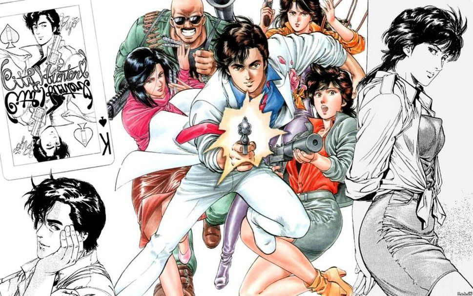 Nicky Larson City Hunter Wallpaper Forwallpaper Com City Hunter Nicky Larson Anime City hunter anime wallpaper hd