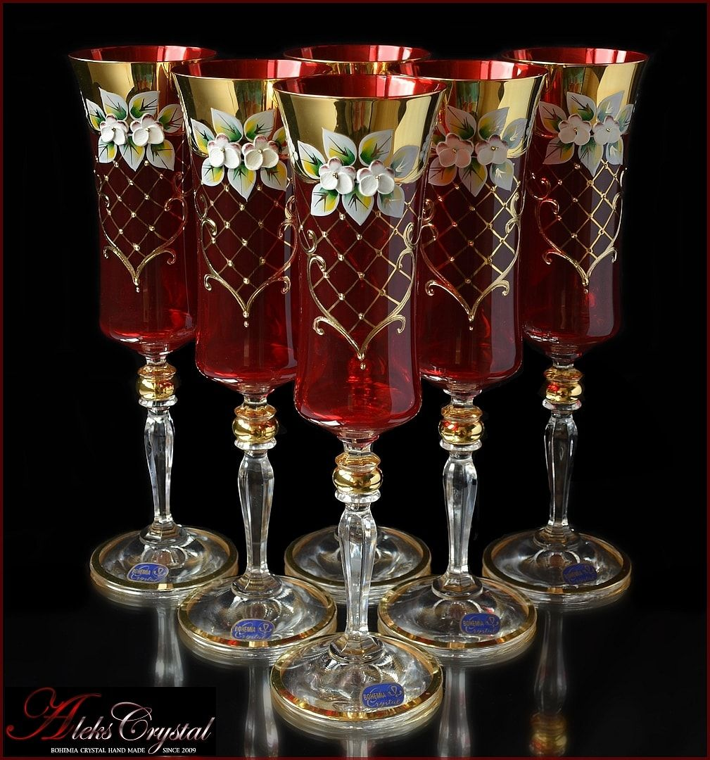 Aleks Crystal Com Bohemia Crystal Champagne Glasses In 2020 Crystal Glassware Crystal Champagne Glasses Bohemia Crystal
