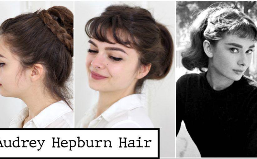Four Audrey Hepburn Hairstyles Loepsie Audrey Hepburn Hair Audrey Hepburn Style Hair Hair Styles