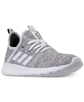 adidas Women s Cloudfoam Pure Running Sneakers from Finish Line - White 7 a83a61c22