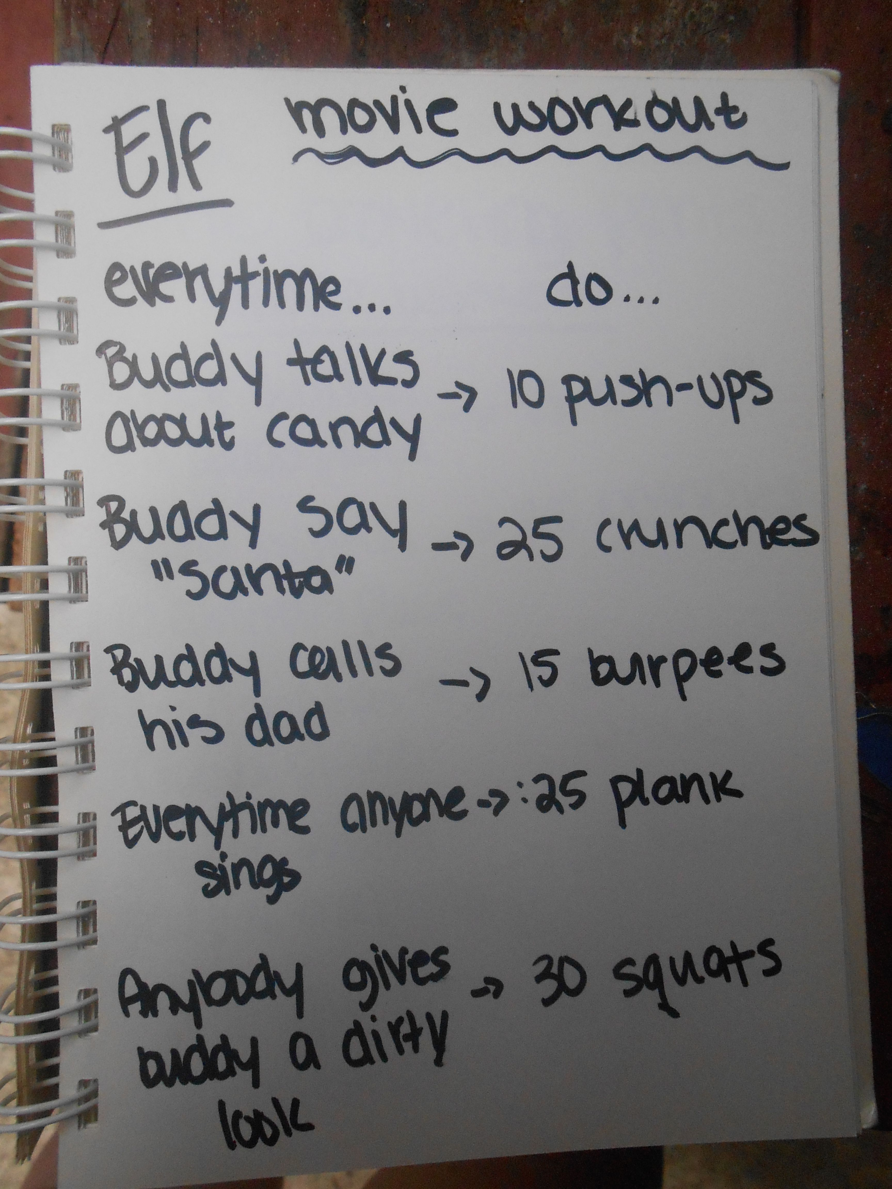Deer Antler Spray Fun workouts, Movie workouts, Tv show