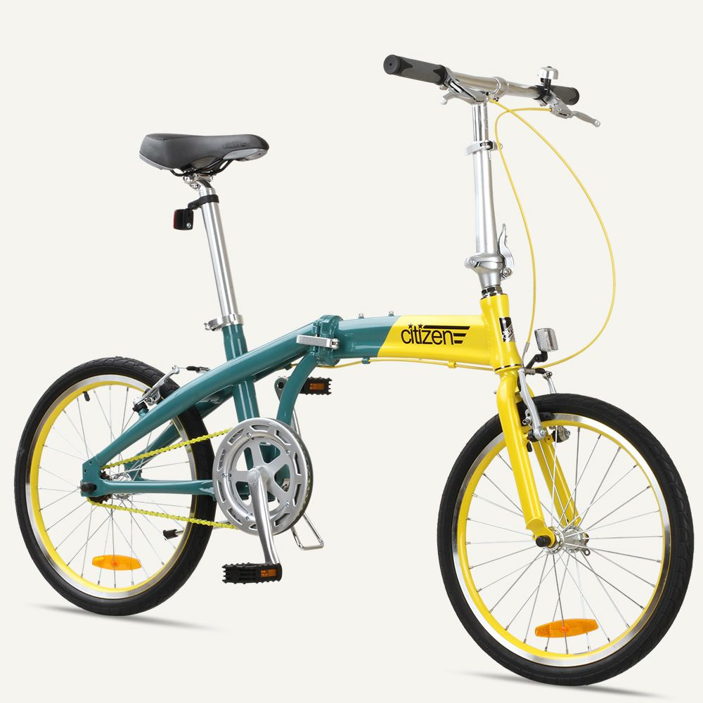 Gotham1 Citizen Bike 20 1 Speed Folding Bike With Alloy Frame