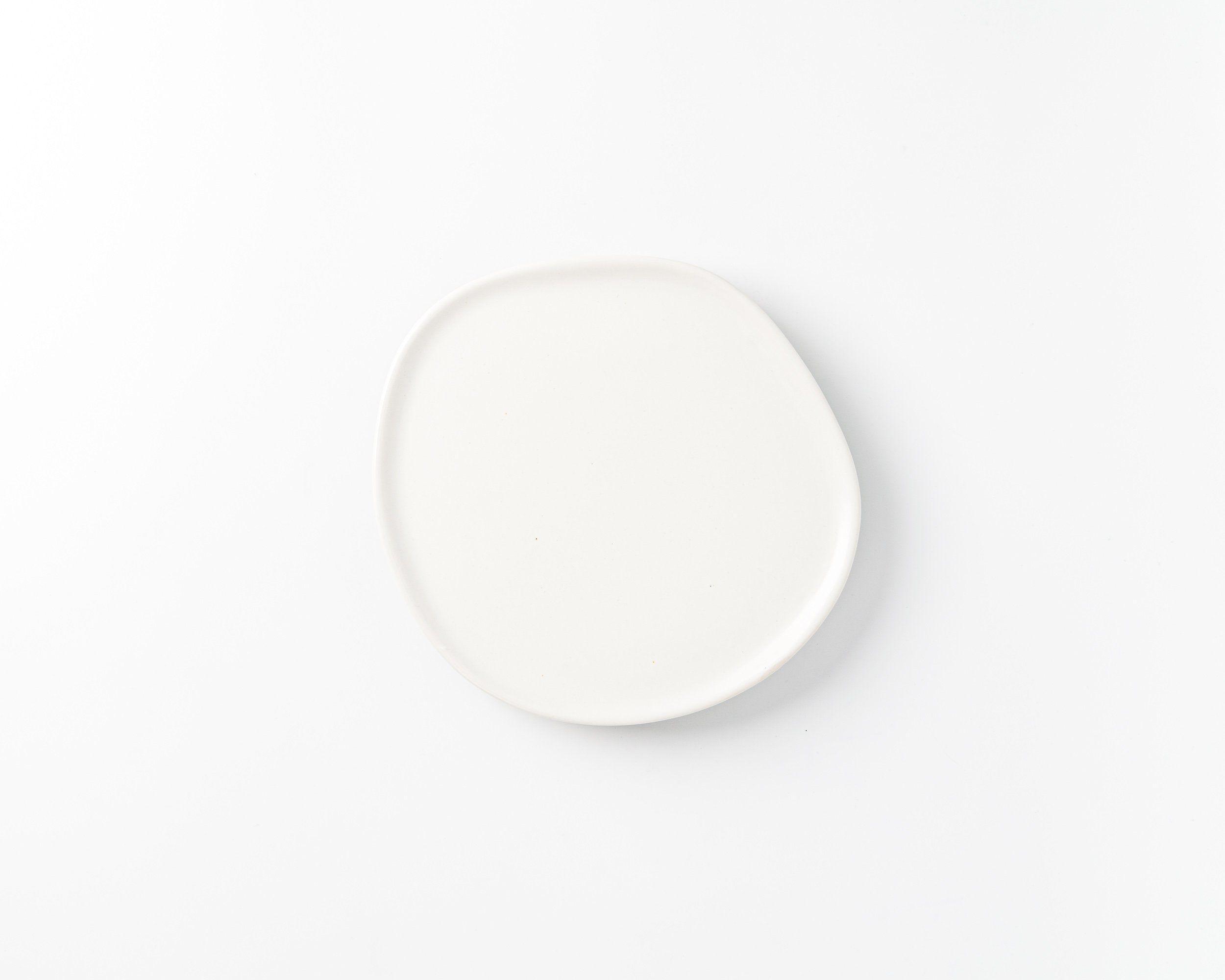 Ripple Salad Plate - PRE-ORDER - Matte White