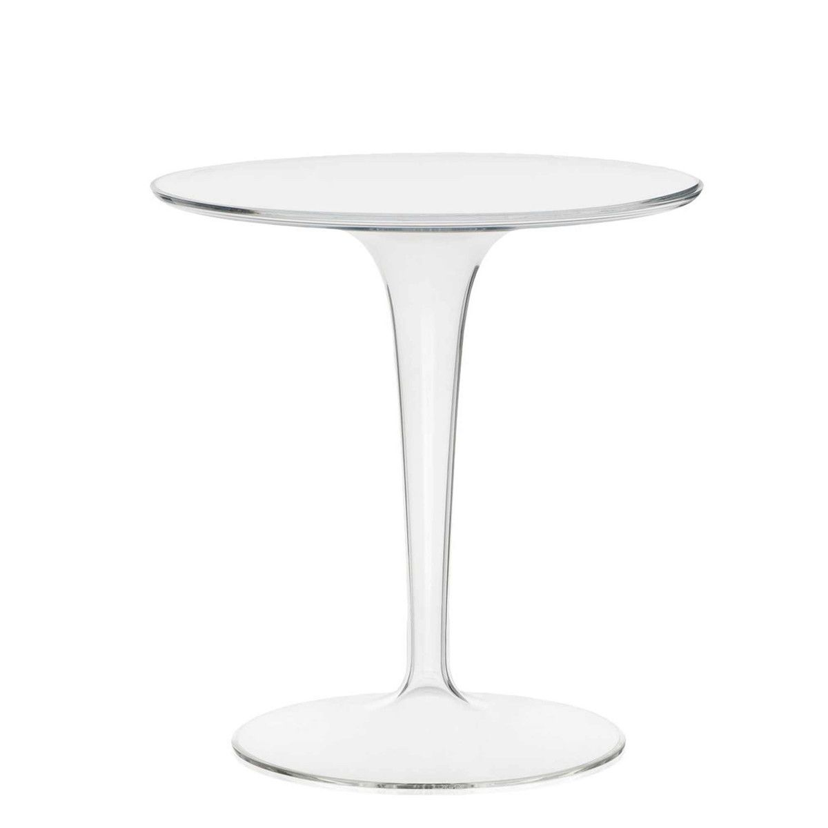 kartell  tip top beistelltisch transparent  tops tables and  - kartell  tip top beistelltisch transparent